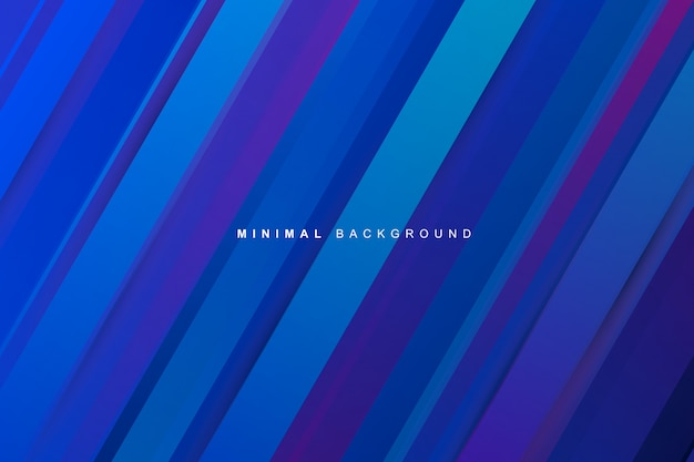 Abstract dynamic modern vibrant blue gradient stripes texture background