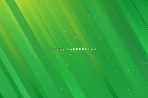 Abstract dynamic modern vibrant green gradient stripes texture background
