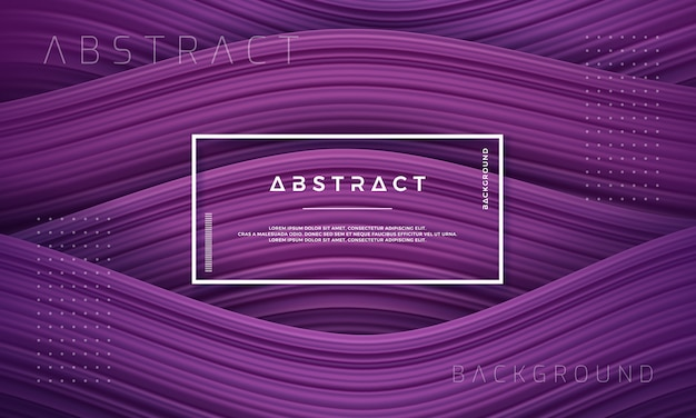 Abstract, dynamic and textured purple background.