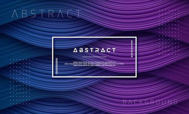Abstract, dynamic and textured purple and dark blue background