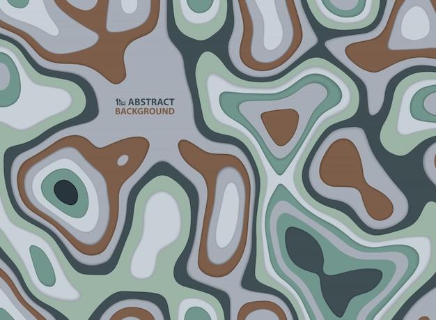 Абстрактный цвет земли тон дизайн фона произведения искусства.