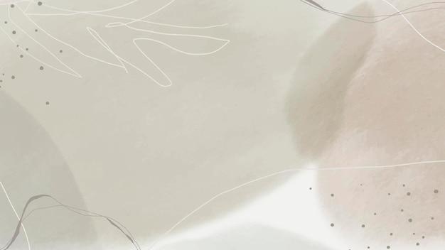 Абстрактный земной тон мемфис узорчатый фон