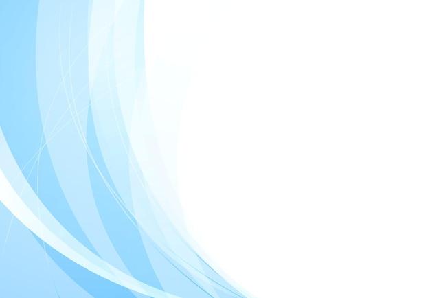 푸른 파도와 추상 우아한 배경