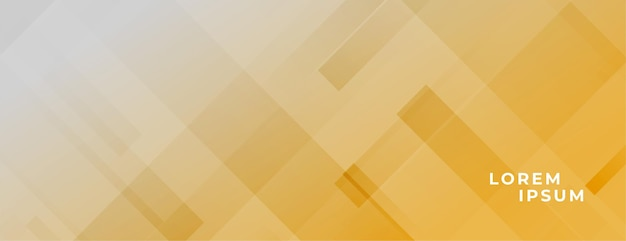 Abstract elegant banner with diagonal lines