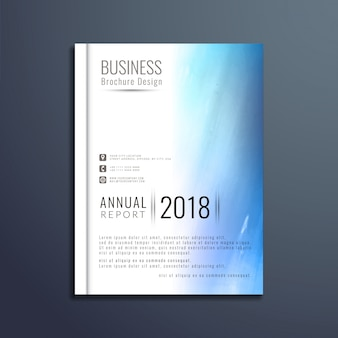 Abstract elegant business brochure template