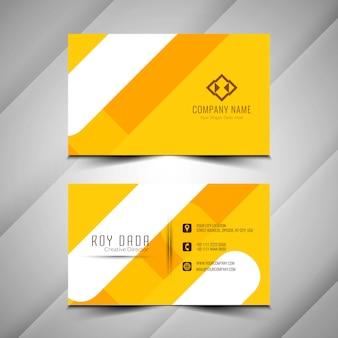 Абстрактные элегантные визитные карточки красочный дизайн