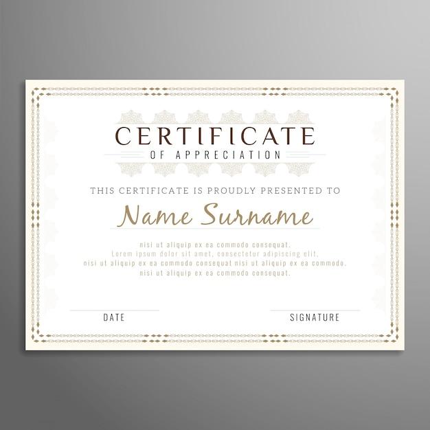borderline designs for certificates