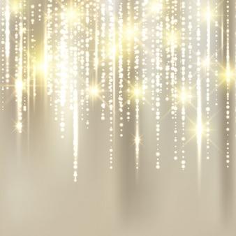 Abstract elegant christmas golden background