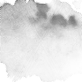 Abstract elegant halftone background