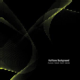 抽象的なエレガントなハーフトーンの暗い背景