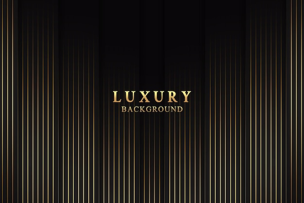Abstract elegant luxury background concept with black and gold texture