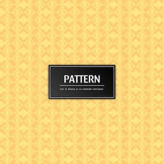 Abstract elegant pattern yellow background