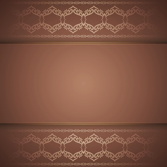 Abstract elegant royal brown background