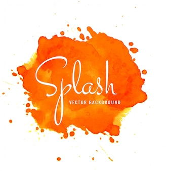 Abstract elegant watercolor splash background