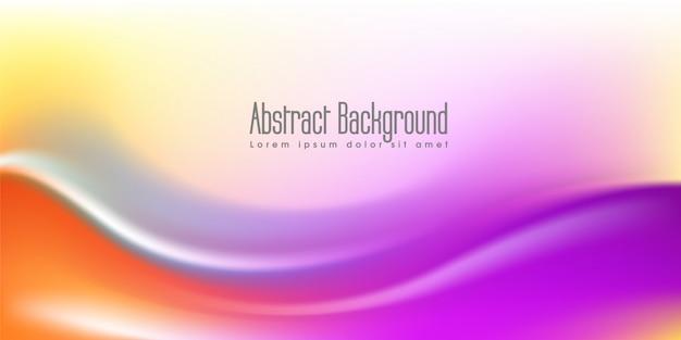 Abstract elegant wave background design