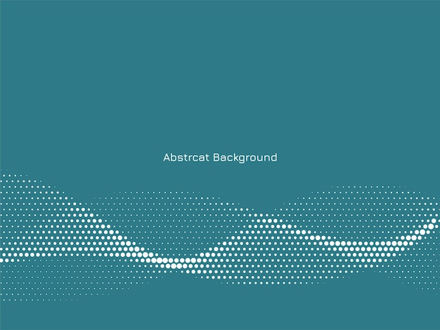 Abstract elegant wavy halftone background
