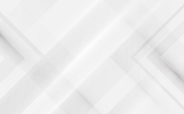 Абстрактный элегантный белый и геометрический фон