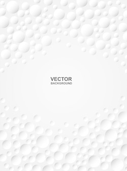 Abstract.  embossed circle white background. light and shadow. copyspace