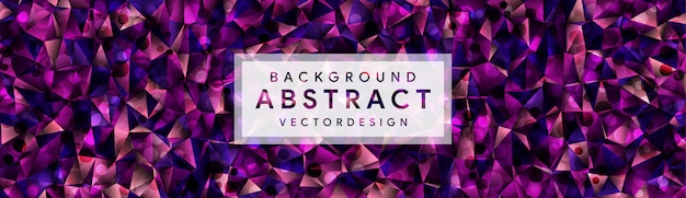 Abstract eometric polygonal background