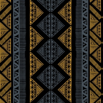 Abstract ethnic african pattern