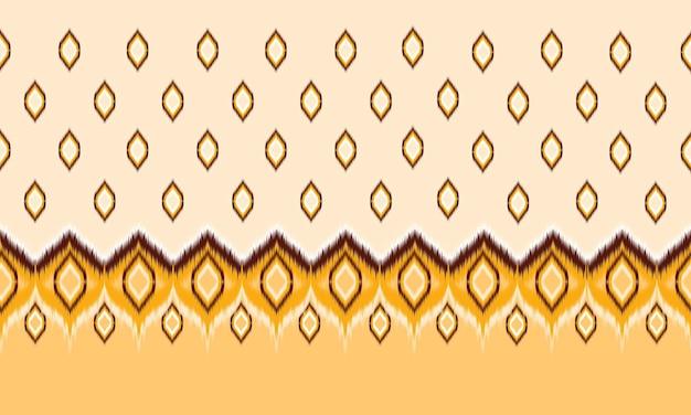 Абстрактный фон модель шеврон этнических икат. , ковер, обои, одежда, упаковка, батик, ткань, векторные иллюстрации. стиль вышивки.