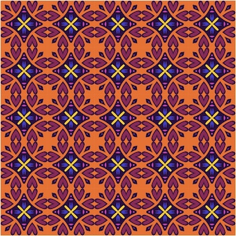 Abstract ethnic seamless pattern background