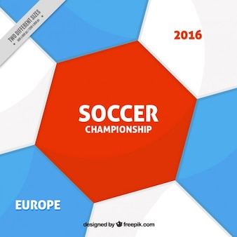 Abstract euro 2016 background