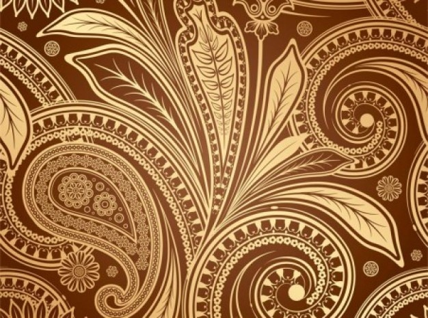 Abstract european fine pattern vector set