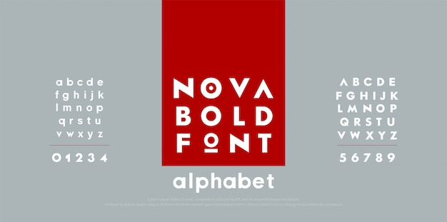 Abstract fashion modern alphabet fonts.