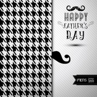 Abstract father's day background with moustache
