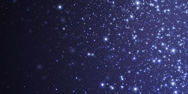 小さなネオンダスト粒子で作られた抽象的なお祭りの背景。ネオンライト。