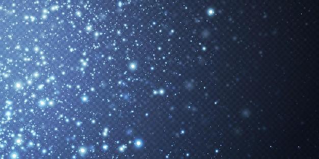 小さなネオンダスト粒子で作られた抽象的なお祭りの背景