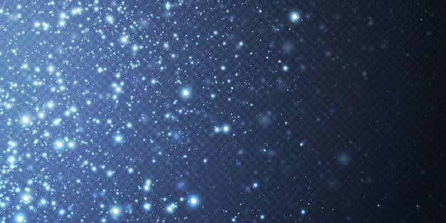 Abstract festive background made of small neon dust particles