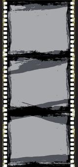 抽象的なフィルムストリップのフレーム