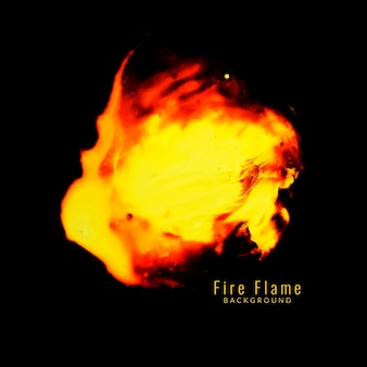 抽象的な炎の炎の背景