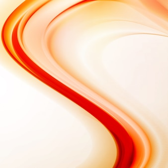 Abstract fire flames illustration