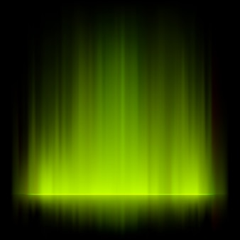 초록 불 조명 배경.