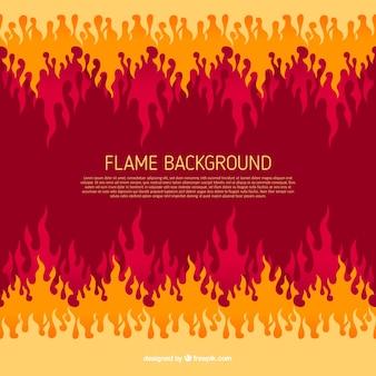 Абстрактный фон пламени