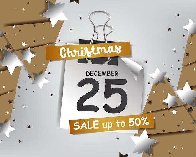 크리스마스 배경에 대한 추상 플래시 판매 프레임