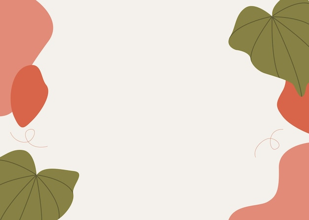 Abstract flat background
