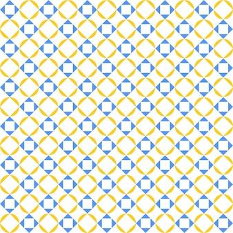 Abstract flat geometric pattern seamless