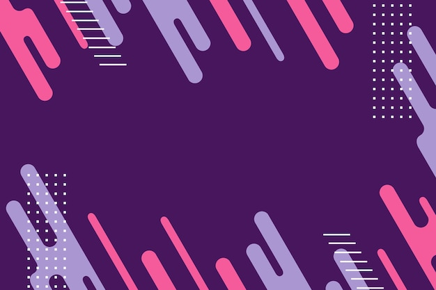 Абстрактный фон плоской геометрической формы