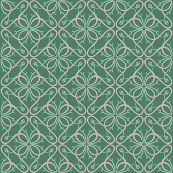 Abstract floral geometric pattern prints.