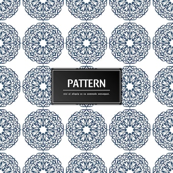 Abstract floral pattern decorative background
