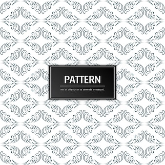 Abstract floral pattern elegant background