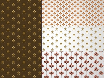 Abstract floral pattern pack backgrounds