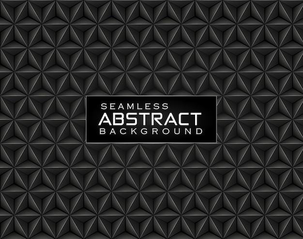 Abstract floral polygonal seamless pattern background