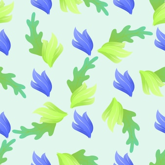 Abstract  floral seamless pattern background.