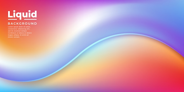 Abstract flow liquid background