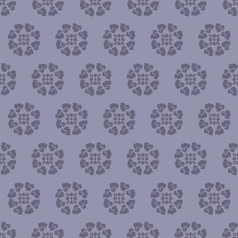추상 꽃 기하학적 배경, 디자인 패턴 인쇄입니다.